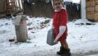 Romský chlapec byl vyslán pro vodu